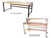 HEAVY-DUTY WORK BENCHES - FULLY ACCESSORIZED WITH MAPLE TOP